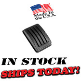 """➣➢Mopar Parking Emergency Brake Pedal Pad. Your stainless steel bezel fits over this new pad. 1-5/8"""" wide x 2-3/8"""" long"""