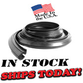 66 67 68 69 70 Mopar Convertible Roof Rail Seal.  Fits Roadrunner, GTX, Coronet, Super Bee, Satellite and Belvedere. Sold individually.