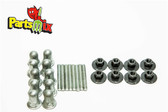 1968 Dodge Charger Tail Light Housing Mounting Nut Stud Kit
