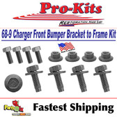 70 Coronet R/T, Super Bee 440, 500 Front Bumper Brackets to Frame Bolt Kit
