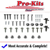 68 69 70 GTX, Roadrunner, Charger & Coronet B Body Automatic Console Screw Kit 42 pcs.
