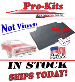 68/69 Coronet Coupe & Convertible Trunk Mat Rubber (11½ Center of trunk latch to center of right support cut out) 3888140