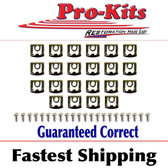 Rear Window Reveal Molding Clip Kit.  Fits 68 69 70 71 72 73 74 75 Dart & Valiant