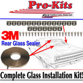 68 69 70 Roadrunner GTX Coronet Rear Window Glass Clip Installation Kit