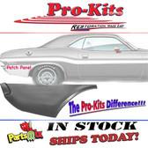 Mopar 70 71 72 73 74 Challenger Quarter Panel Lower Right Rear Patch Repair