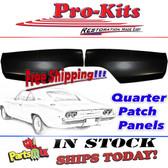 Mopar 68 69 70 Charger Quarter Panel Lower Left & Right Rear Patch Repair