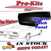 Mopar 68 69 70 Charger & Charger 500 Quarter Panel Right Rear Patch Repair