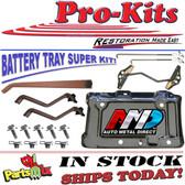 67 68 69 Roadrunner Charger Coronet B Body (AMD) Battery Tray Service Kit