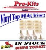 71-74 Charger Vinyl Top Molding Clip Set