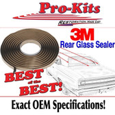 Mopar Windshield or Back Window Glass Sealer Gasket Tape Kit