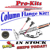 "Lower Column ""O Ring"" Retainer Flange to Steering Column Lower Firewall Plate Bolts (Pair)"