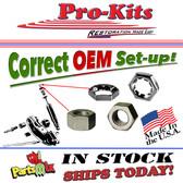 70 71 72 73 74 Cuda AAR Barracuda Challenger & T/A Upper Shock Nut Service Kit Correct