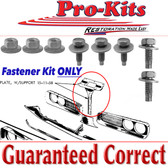 1970 Coronet Super Bee R/T Vertical Hood Latch Lock Support to Radiator Support Bolt Kit (8pcs.)