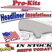 71 72 73 74 B-Body, Charger, Roadrunner, GTX, and Coronet Headliner Insulation Kit