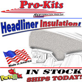 67-76 A-Body Headliner Pad Insulation (2pc.) NOT Barracuda