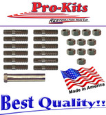 66 67 68 69 Standard Exhaust Manifold Bolt Nut Stud Kit for 361 383 Engines