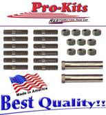 62 63 64 B Body Max Wedge Exhaust Manifold Fastener Stud Nuts Kit