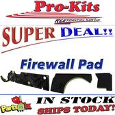 66-70 B-Bodies Firewall Pad w/Air 3pc w/Clips