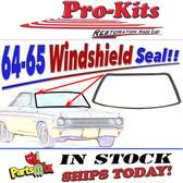 64-65 B-Body Windshield Weatherstrip Not Convert.