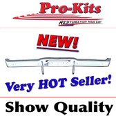 68-70 Dodge Charger Rear Bumper complete with Bumperettes