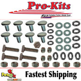68 69 Coronet Front Bumper With or Without Bumper Guards  Bumper Bolt Kit