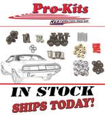 70 71 Barracuda Cuda Trunk Filler Neck Taillight Chrome Bolt Nut Screw Kit