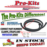 Heater Hose Kits 1969 A/B Body With Air