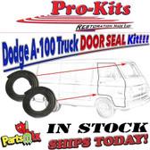 64 65 66 67 68 69 70 A100& A108 Truck Van Front Door Weatherstrip Seals