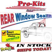 """67-71 Dodge Truck """"Large"""" Rear Window Gasket Seal"""