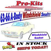63-66 Dart, Valiant, Barracuda 2/4 Door Sedan/Wagon/Hardtop Windshield Gasket