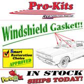 66-67 Charger Coronet GTX Belvedere Windshield Weatherstrip Gasket Seal