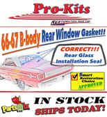 66-67 Belvedere Coronet Satellite Rear Window Gasket Seal