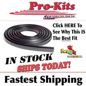 Trunk Seal. For cars with flat (not D-shaped) trunk seal end profile. Each