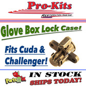 """70-74 Cuda & Challenger GLOVE BOX LOCK """"CASE"""""""