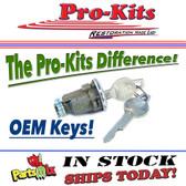 59-65 TRUNK LOCK CYLINDER- w/NOS Early Pentastar Keys