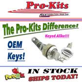 GLOVE & TRUNK 73-74 E-Body w/OEM keys