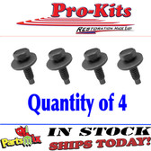 Duster Scamp Valiant Front Filler Panel Bolt Kit