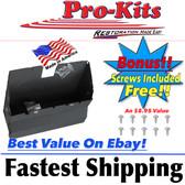 1970 71 72 73 74 E Body  Barracuda Challenger Cuda Glove Box Liner 2 Parts w/Screws