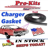 68 69 70 Charger, Daytona 500 Trunk Deck Lid Seal. OEM Correct