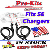 """Roof Rail Seal Kit.  Fits 73-74 Charger """"SE"""" Models.  Sold as a Kit of 2."""