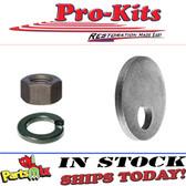 Upper Control Arm Suspension Cam Washer Split lock washer & hex nut