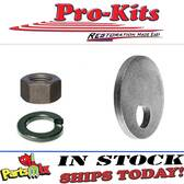 Upper Control Arm Suspension Cam Washer Split lock washer & hex nut