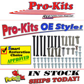 1969 Dart Exterior Trim Screw Kit