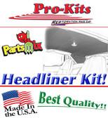 66/67 Roadrunner/GTX 4 Bow Headliner Perforated