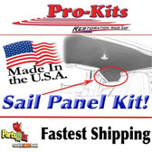 69 70 Roadrunner GTX Satellite Sail Panels Perforated material