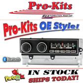 "1970-71 Mopar ""E"" Body AM/FM Bluetooth® Radio.  Fits Plymouth Barracuda, Dodge Challenger"