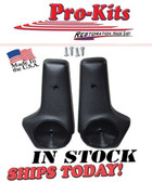 A/B/E 1971 & Up Black Bucket Seat Hinge Covers