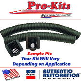 1968-1970 B Body Dash Vents and Hoses Kit for A/C Cars Only