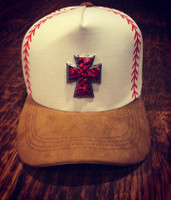 Red Stone Cross Baseball/Softball Cap