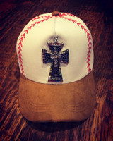 Rainbow Bling Baseball/Softball Cap